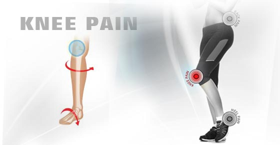 how to fix knee pain from flat feet